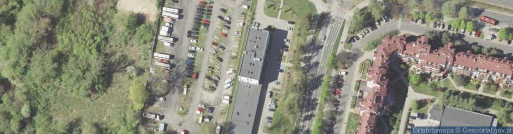 Zdjęcie satelitarne Koncertowa ul.