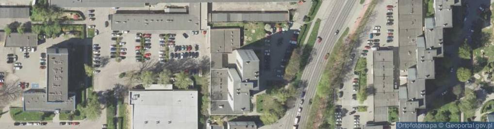 Zdjęcie satelitarne Koryznowej Marii ul.