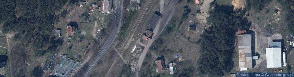 Zdjęcie satelitarne Kolejowa 1