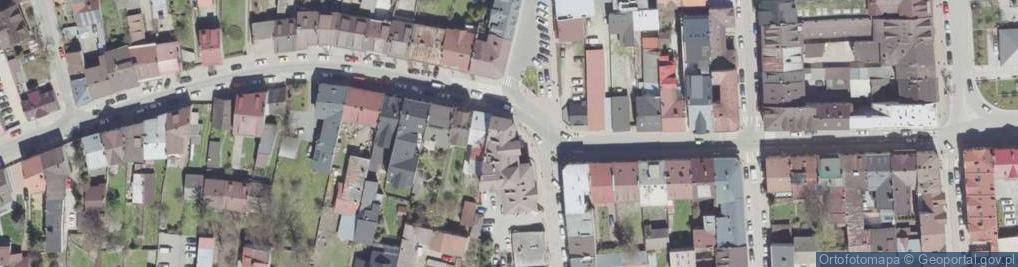 Zdjęcie satelitarne Kolejowa 23