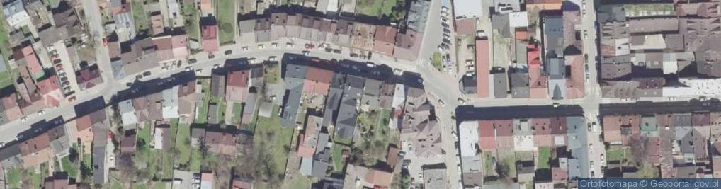 Zdjęcie satelitarne Kolejowa 31
