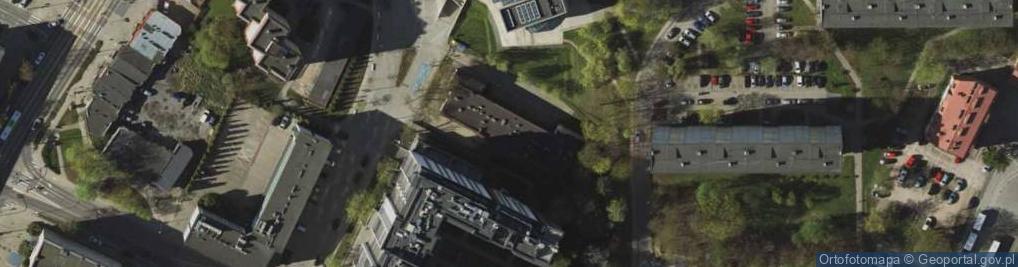 Zdjęcie satelitarne Kołobrzeska 8