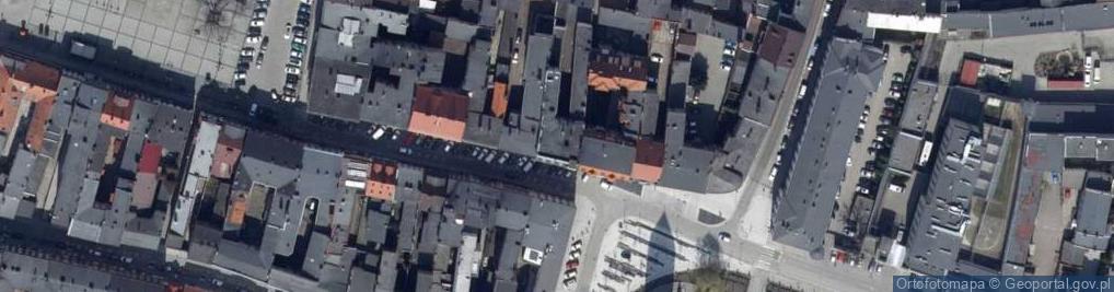 Zdjęcie satelitarne Kościelna 9