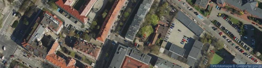 Zdjęcie satelitarne Kościuszki Tadeusza, gen. 108