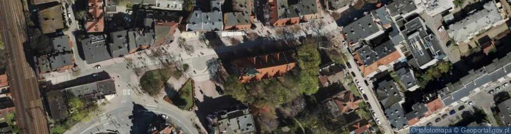 Zdjęcie satelitarne Kościuszki Tadeusza, gen. 1