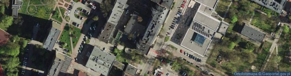 Zdjęcie satelitarne Kościelna 44
