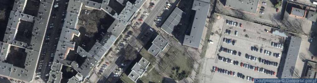 Zdjęcie satelitarne Kopernika Mikołaja 17a