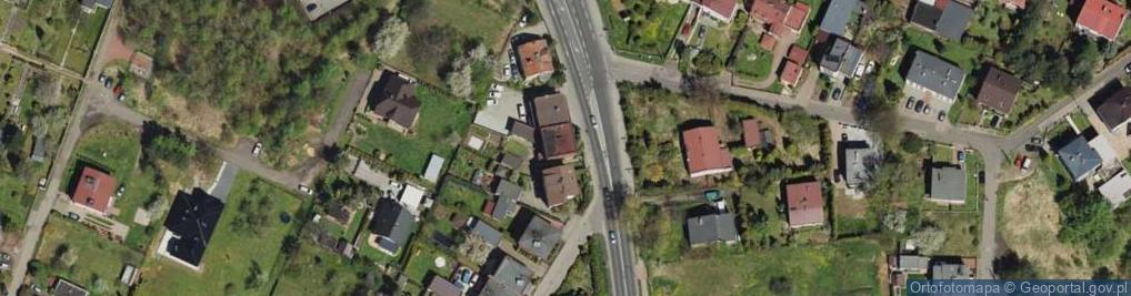 Zdjęcie satelitarne Korola Józefa ul.