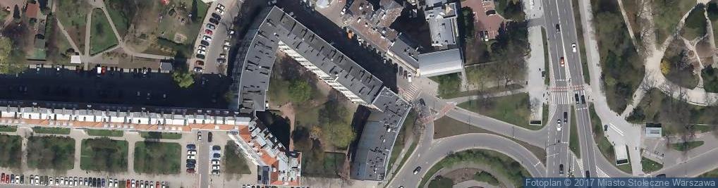 Zdjęcie satelitarne Koszykowa 1