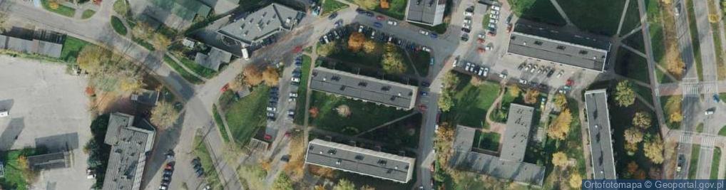 Zdjęcie satelitarne Krasińskiego 3
