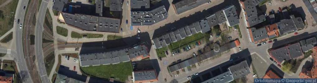 Zdjęcie satelitarne Królewiecka ul.
