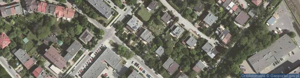 Zdjęcie satelitarne Kryniczna 6