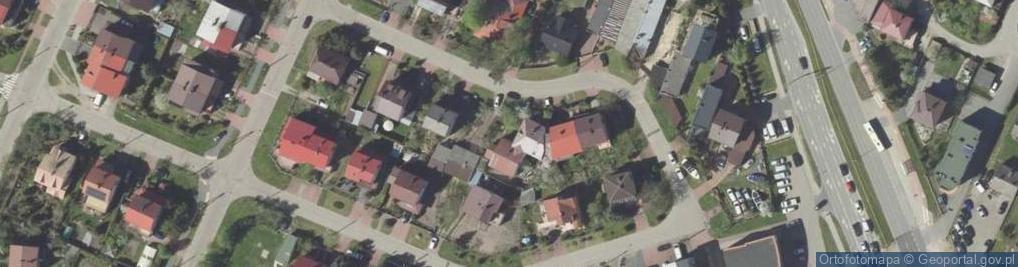 Zdjęcie satelitarne Kręta ul.