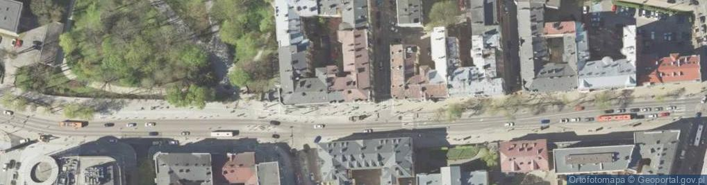 Zdjęcie satelitarne Krakowskie Przedmieście 57