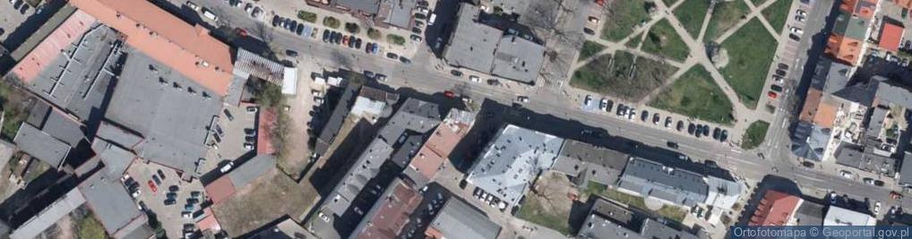 Zdjęcie satelitarne Królewiecka 12