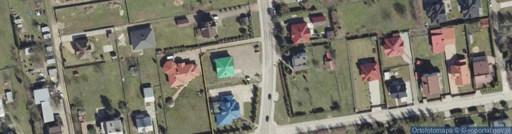 Zdjęcie satelitarne Krzyska 210