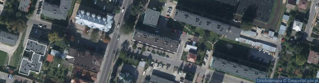 Zdjęcie satelitarne Króla Zygmunta ul.