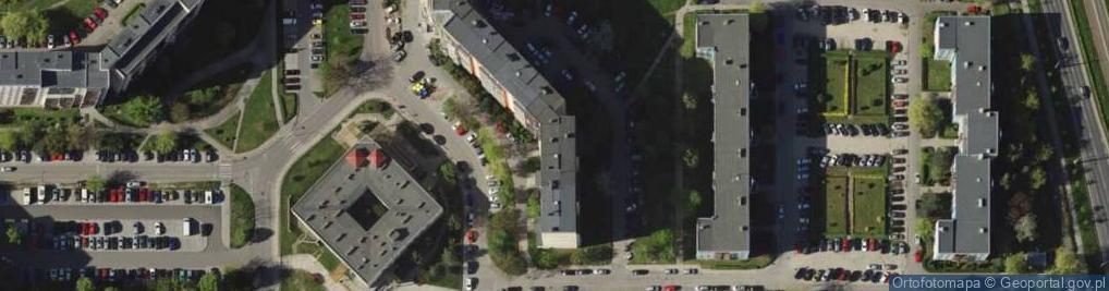 Zdjęcie satelitarne Krynicka 88