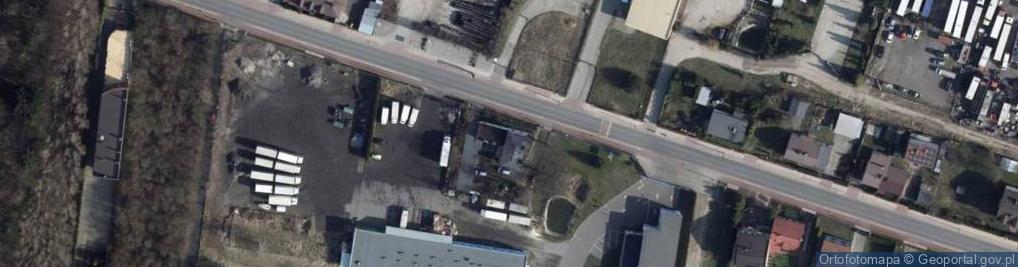Zdjęcie satelitarne Ksawerowska 7