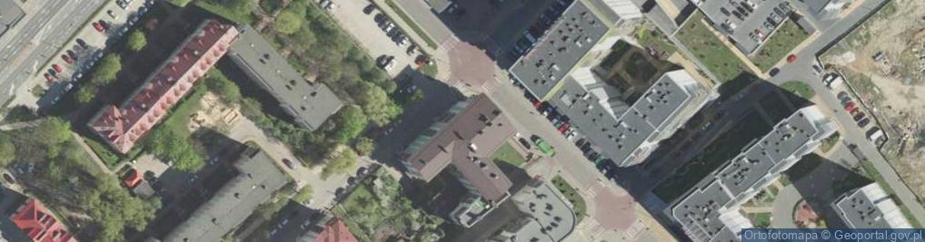 Zdjęcie satelitarne Łąkowa 9