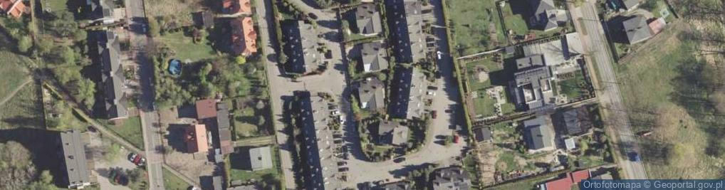 Zdjęcie satelitarne Łąkowa 25