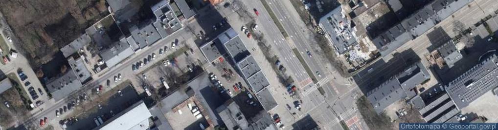 Zdjęcie satelitarne Łąkowa 19