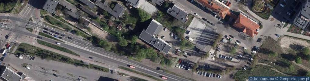 Zdjęcie satelitarne Leśna 12