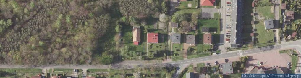 Zdjęcie satelitarne Leśna 18