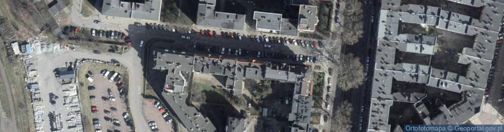 Zdjęcie satelitarne Legionów Henryka Dąbrowskiego 18