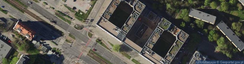 Zdjęcie satelitarne Legnicka 55E