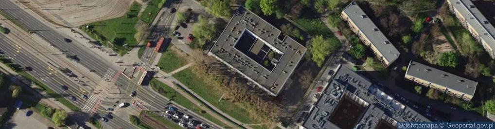Zdjęcie satelitarne Legnicka 61