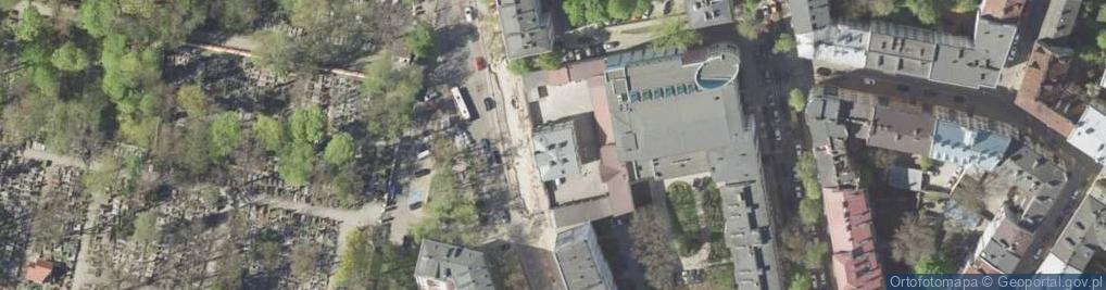 Zdjęcie satelitarne Lipowa 16