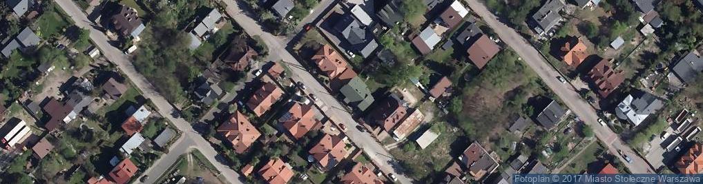 Zdjęcie satelitarne Licealna 60