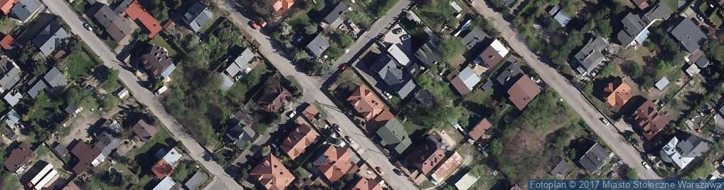 Zdjęcie satelitarne Licealna 62