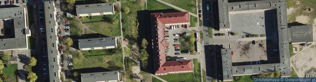 Zdjęcie satelitarne Łozowa 78
