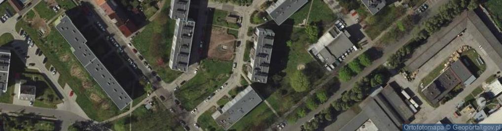 Zdjęcie satelitarne Lotnicza 8