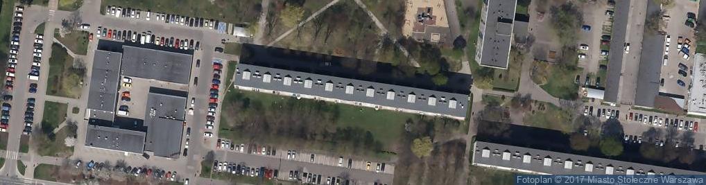 Zdjęcie satelitarne Łojewska 5
