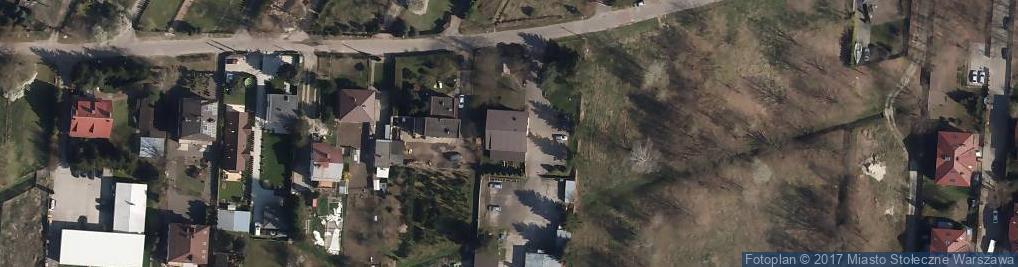 Zdjęcie satelitarne Loteryjki 71