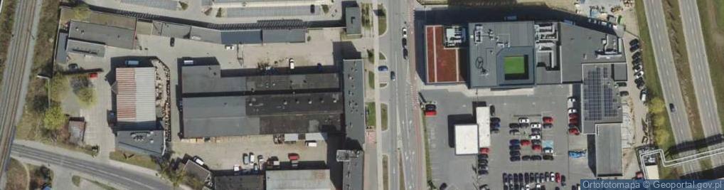 Zdjęcie satelitarne Łużycka 10