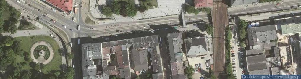 Zdjęcie satelitarne Lubicz ul.