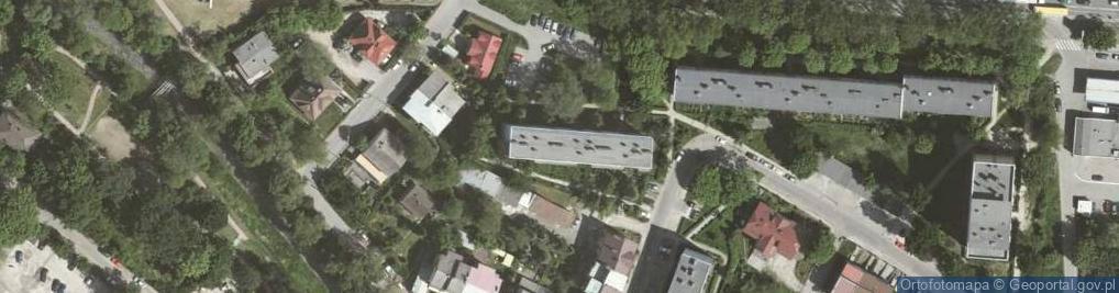 Zdjęcie satelitarne Lublańska ul.