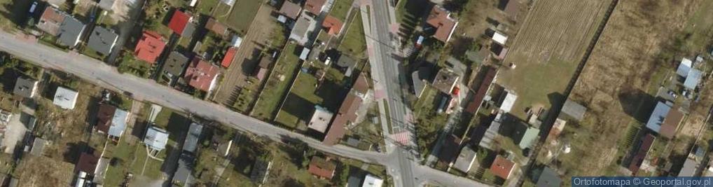 Zdjęcie satelitarne Łukowska ul.