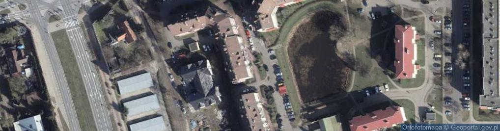 Zdjęcie satelitarne Łukasińskiego Waleriana 42a