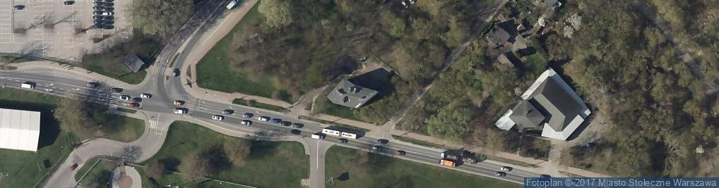 Zdjęcie satelitarne Ludwicka 2