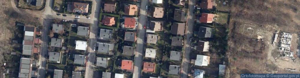 Zdjęcie satelitarne Malinowa 14