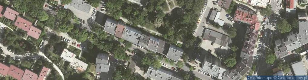 Zdjęcie satelitarne Mazowiecka 31