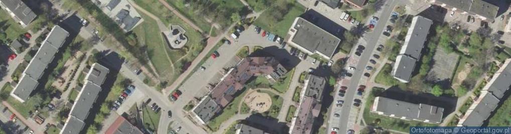 Zdjęcie satelitarne Małachowskiego Stanisława 8