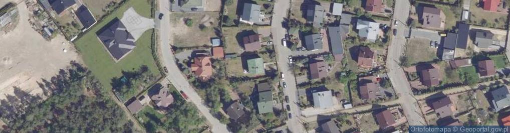 Zdjęcie satelitarne Malinowskiego Maksymiliana 19