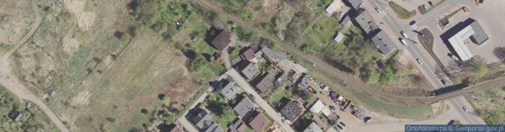 Zdjęcie satelitarne Marynarska 7