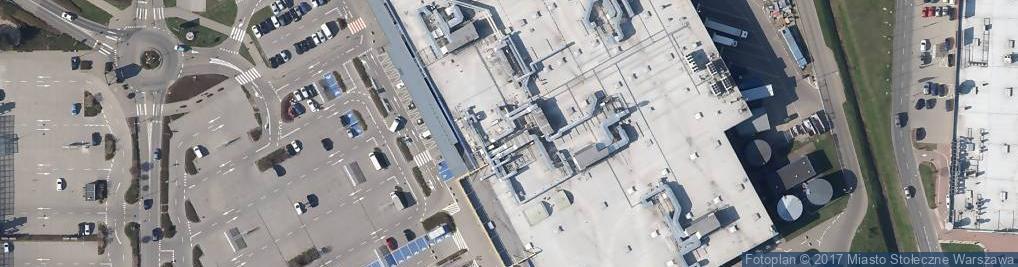 Zdjęcie satelitarne Malborska ul.